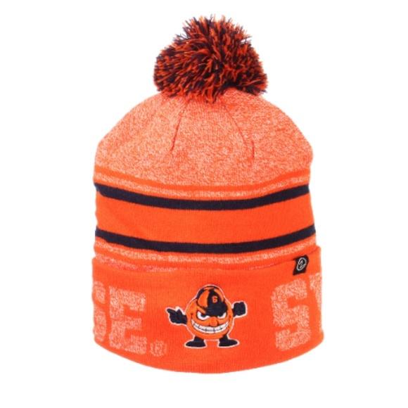 new styles f0fc1 fcf08 Syracuse Orange Zephyr Beanie Hat